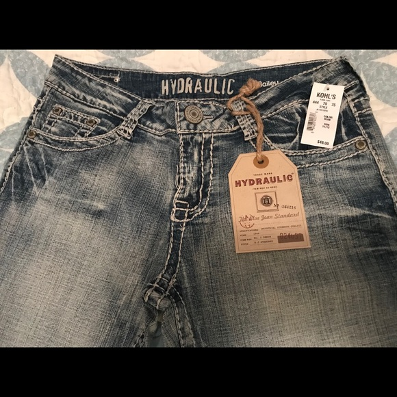 Hydraulic Jeans - Bailey Almost Boot cut 11/12